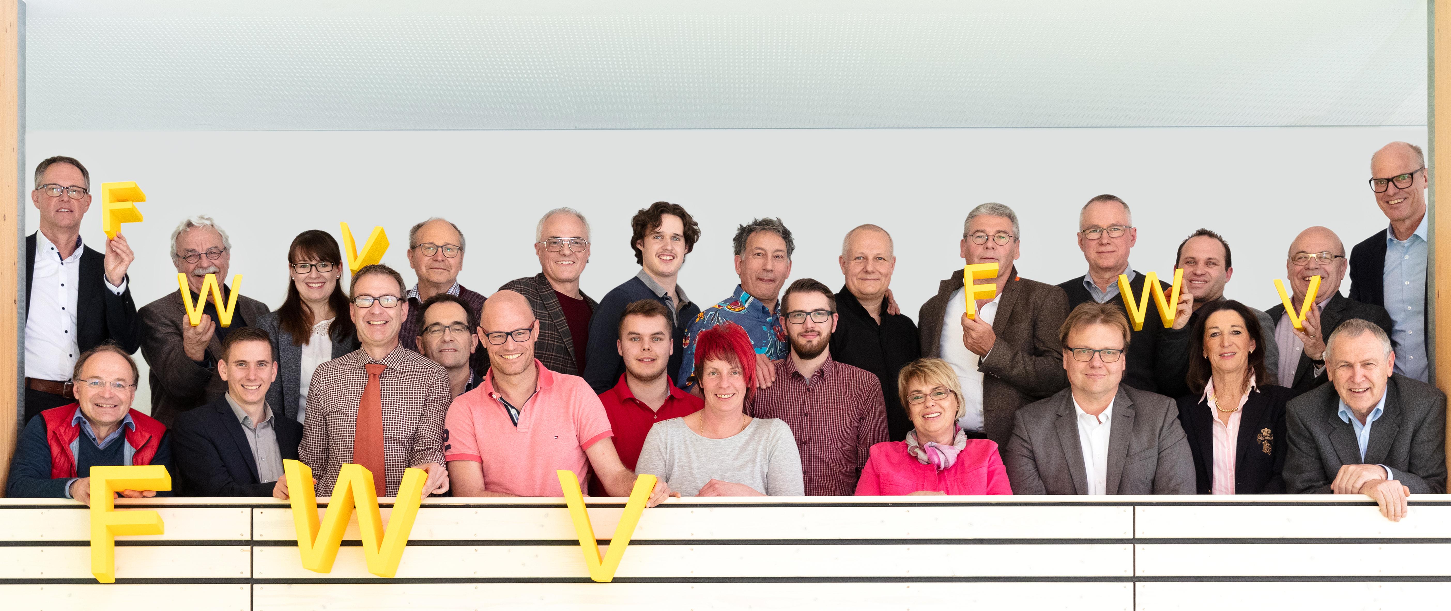 Die einzelnen Mitglieder der Gemeinderatsliste Freie Wähler Rottweil